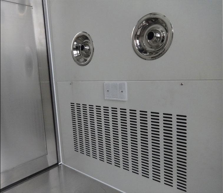 钢板烤漆风淋室细节