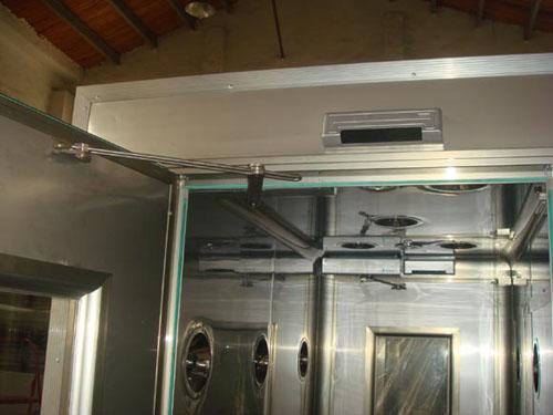 sus304内外全不锈钢自动感应风淋室